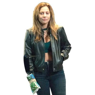 A Star Is Born Lady Gaga Leather Jacket
