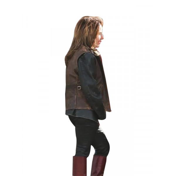 A Star Is Born Lady Gaga Leather Vest