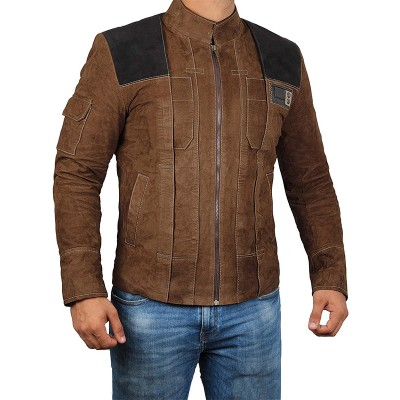 A Star Wars Story Han Solo Leather Jacket