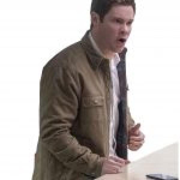 Adam Devine Jexi Phil Green Cotton Jacket