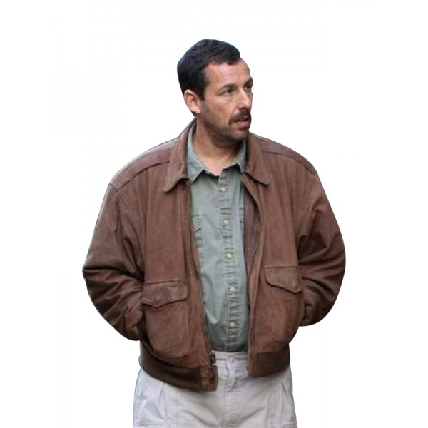 Adam Sandler's 'The Meyerowitz Stories Leather Jacket