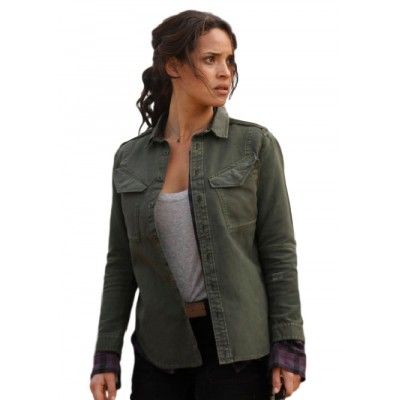 Adria Arjona Emerald City Jacket