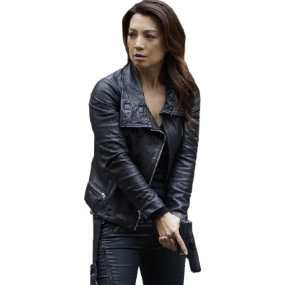 Agents Of Shield Ming-Na Wen Leather Jacket
