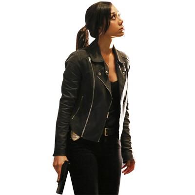 Aimee Garcia Rush Hour Leather Jacket