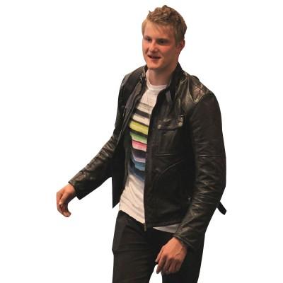 Alexander Ludwig Leather Jacket