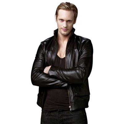 Alexander Skarsgard True Blood Leather Jacket