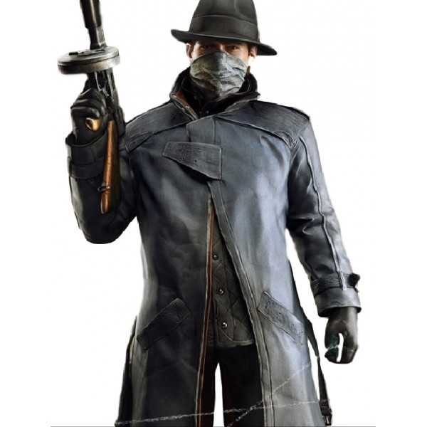 Alone Watch Dogs Grey Coat