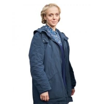 Amanda Abbington Sherlock Coat