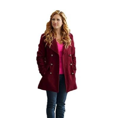 Anna Kendrick Pitch Perfect 3 Maroon Coat
