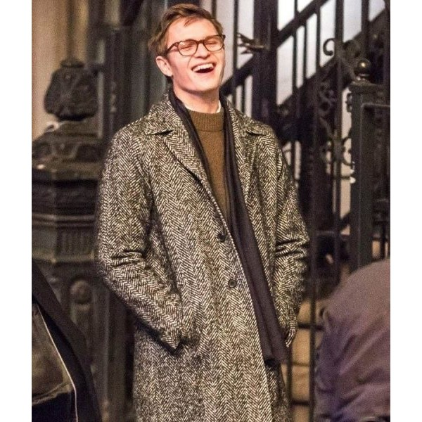 Ansel Elgort The Goldfinch Theo Decker Coat