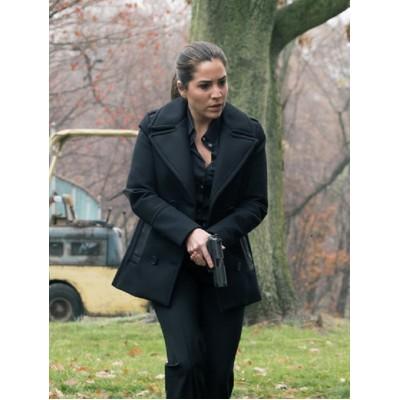 Audrey Esparza Blindspot wool Coat
