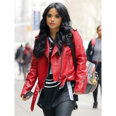 Becky G New York Leather Jacket