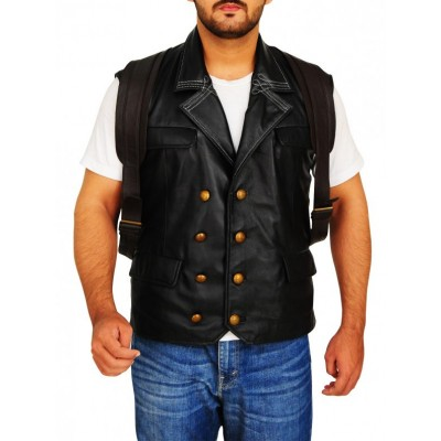 BioShock Infinite Booker DeWitt Leather Vest