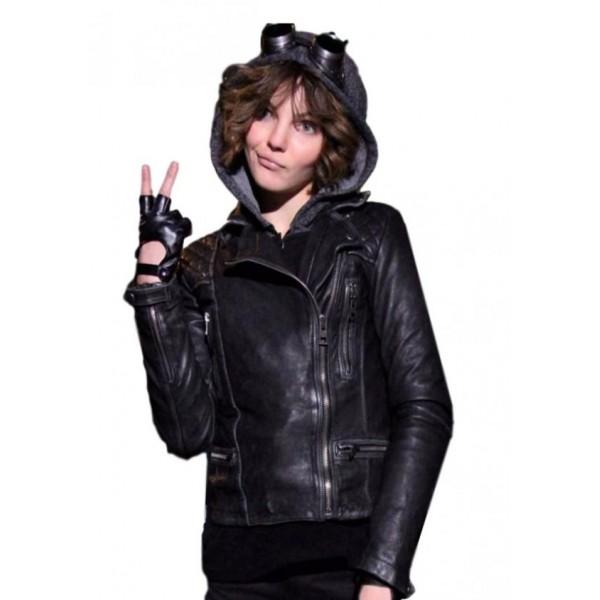 Camren Bicondova Gotham Jacket