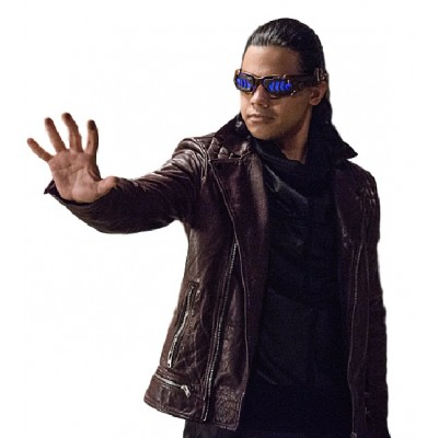 Carlos Valdes Welcome to Earth-2 Leather Jacket