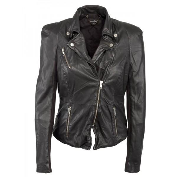 Cheryl Cole Biker Muubaa Leather Jacket