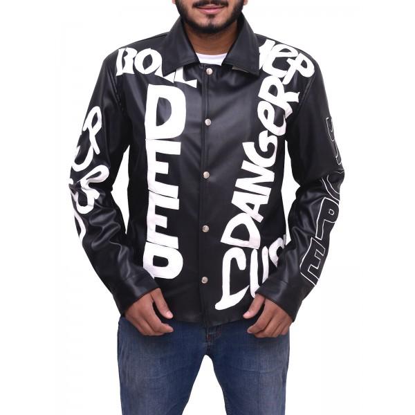 Cool Ice Vanilla Ice Biker Leather Jacket