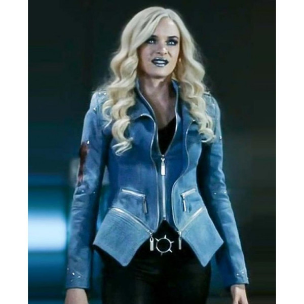 Danielle Panabaker Welcome to Earth 2 Killer Frost Denim Jacket