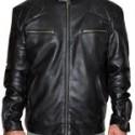 David Beckham Brazil Airport Leather Jacket