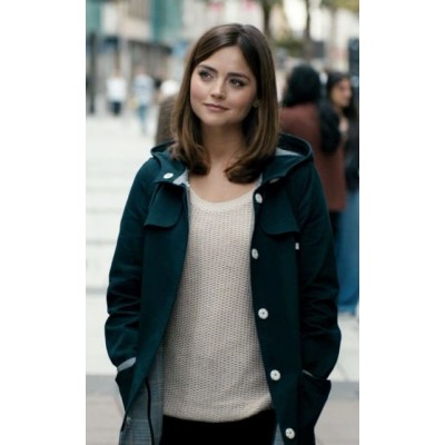Doctor Who Jenna Coleman Green Coat