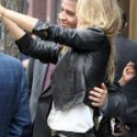 Gisele Bündchen Brazilian Model Black Leather Jacket