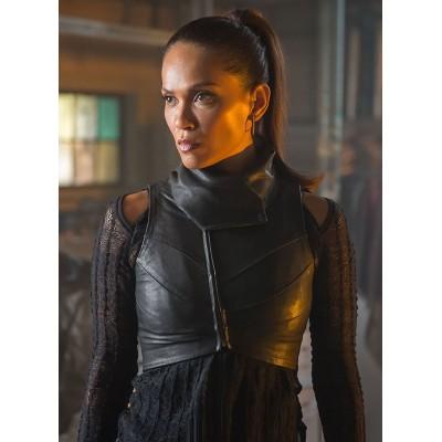 Gotham Larissa Diaz leather Vest