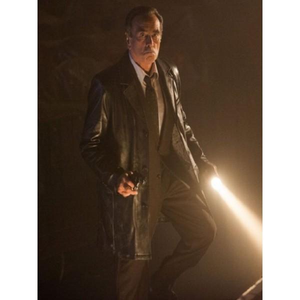 Gotham Dan Hedaya Leather Coat