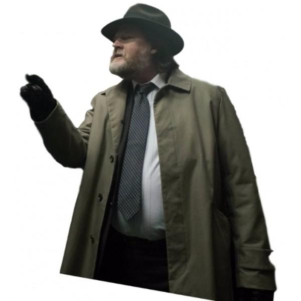 Harvey Bullock Gotham Donal Logue Coat