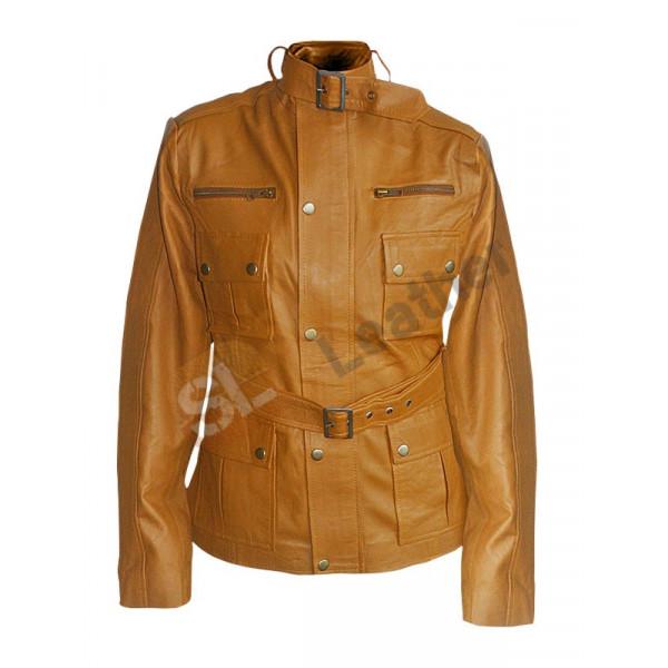 Jennifer Morrison Once Upon A Time Brown Jacket