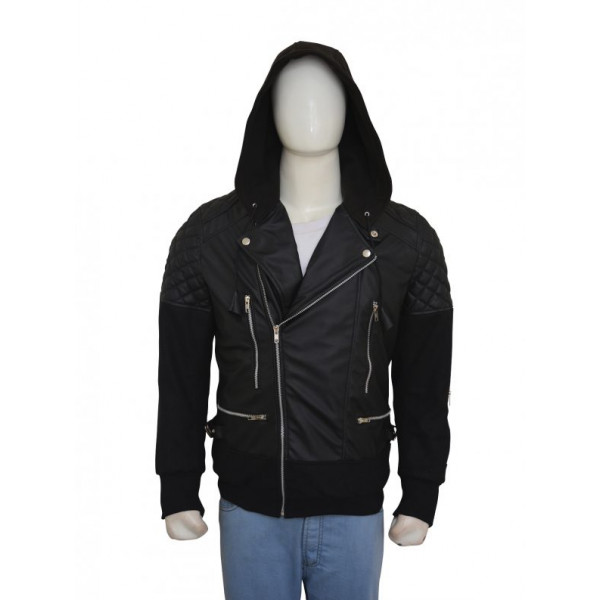 Justin Bieber Black Hoodie Jacket