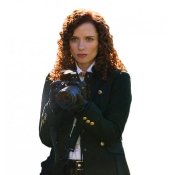Lara Jean Chorostecki Hannibal Black Coat
