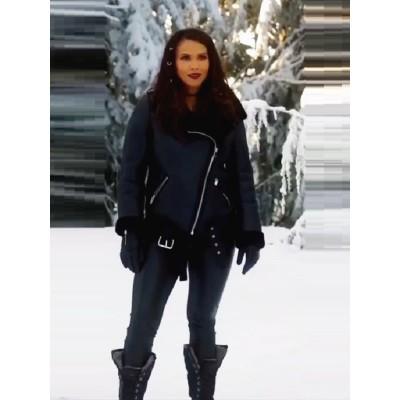 Lesley-Ann Brandt Shearling Leather Jacket