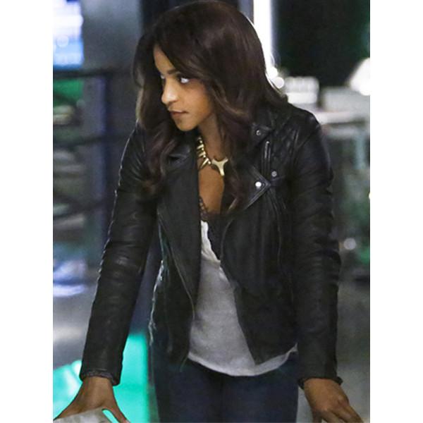 Mari McCabe Arrow Leather Jacket