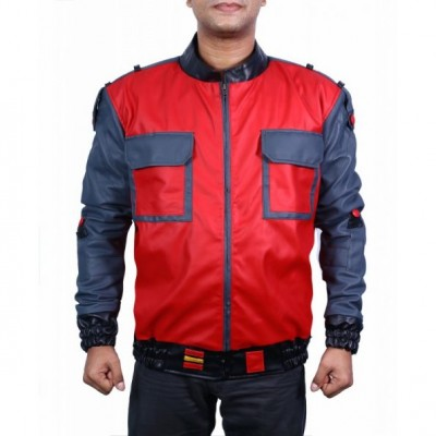 Marty McFly's Back To The Future Leather Jacket