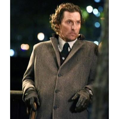 Matthew McConaughey The Gentlemen Mickey Pearson Coat