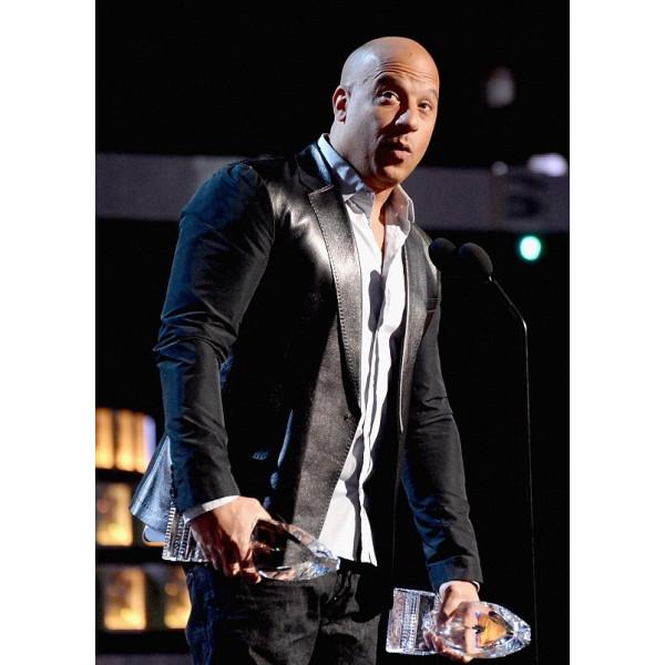 People's Choice Awards Vin Diesel Coat