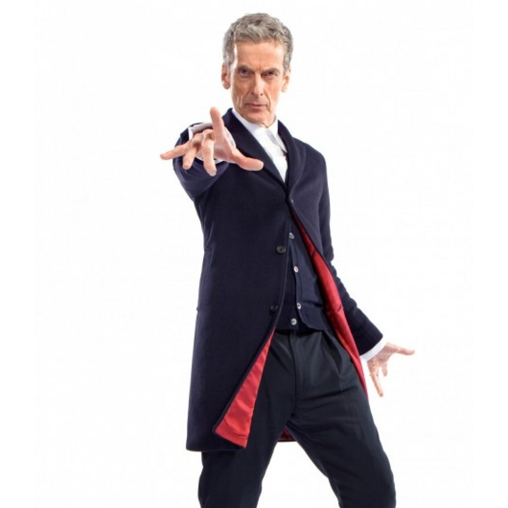 Peter Capaldi 12 Doctor Who Coat