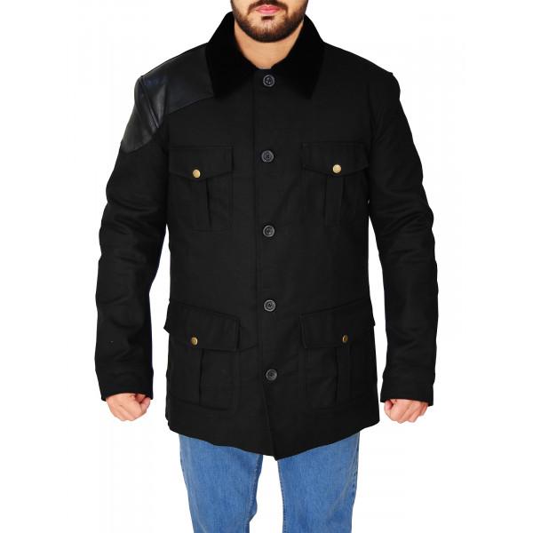 Sherlock Martin Freeman Black Jacket
