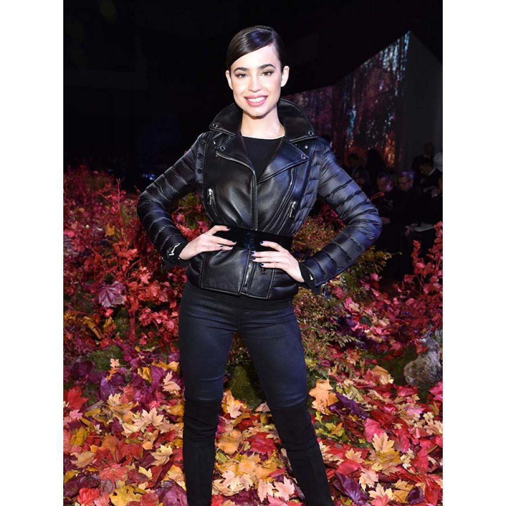Sofia Carson Black Jacket