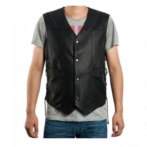 The Walking Dead Angel Wings Leather Vest