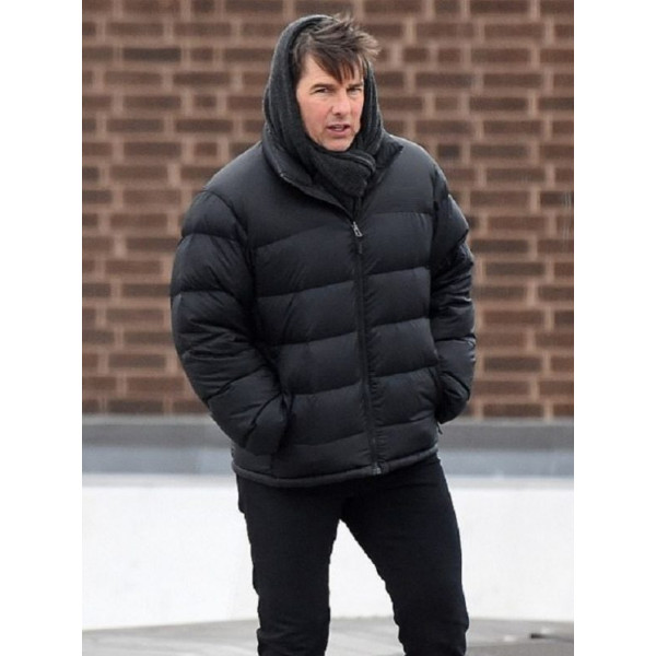 Tom Cruise MI 5 Bomber Jacket